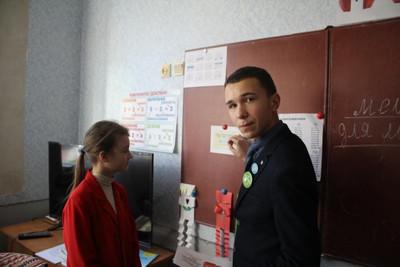 Ліговці Бахмуту провели інформаційна Кампанія щодо діяльності Національних дитячих «Гарячих ліній» в Україні S23550914